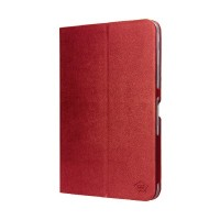 Tablet case pu leather for Galaxy Tab 4 10.1 fuchsia Smart Media