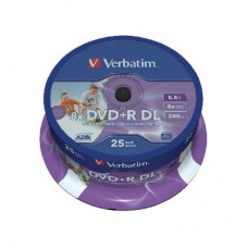 DVD+R Double Layer Inkjet Printable 8x Computer
