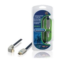 High Speed HDMI Kabel HDMI-Connector - HDMI-Connector 2.00 m Blauw