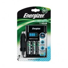 1 Hour charger + 4 AA 2300 mAh + car adapter Energie
