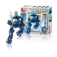 Building Blocks Space Series Ultimate Robot Poseidon Gadgets & Gifts