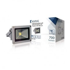 COB LED-bouwlamp 10 W 700 lumen Security & Safety