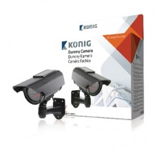 Dummy-camera zonne-energie en actieve IR Security & Safety