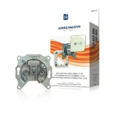 Catv wall socket – 15 db for construction and in-built asembly. not return suitable TV & Satelliet